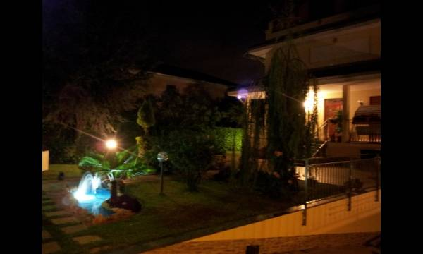 Illuminazione esterna giardino