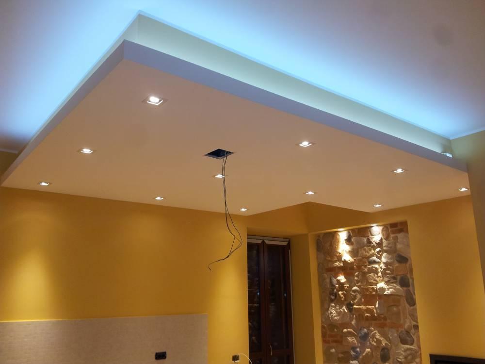 Illuminazione cucina con tecnologia led